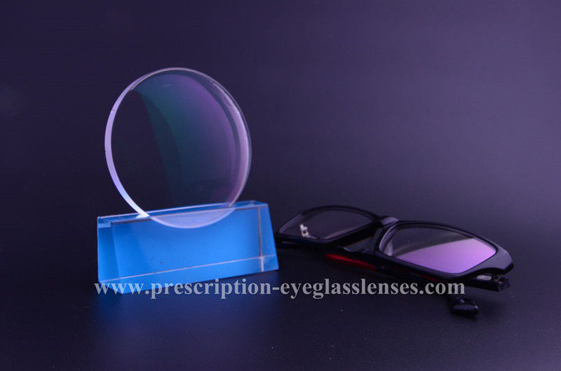 AR Reflection Glare Prescription Eyeglass Lenses For Eye Protection 1.56 Index